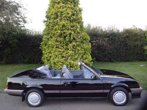 1986  Vauxhall Cavalier 1.8 Cabriolet Mark 2 SOLD (picture 4 of 6)