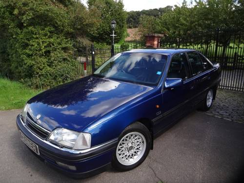 1994  Vauxhall Carlton CDI Sports Auto 4 door Saloon SOLD (picture 1 of 6)