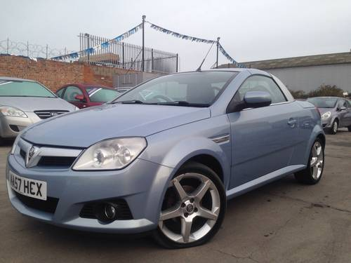 2007 Vauxhall Tigra 1.4 i 16v Exclusive 2d SOLD (picture 2 of 6)
