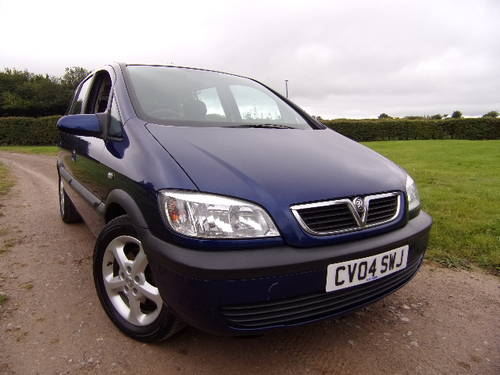 3dd40c2c4f ... 2004 Vauxhall Zafira 1.6i Club 7 Seat (Part Exchange to Clear) SOLD ...