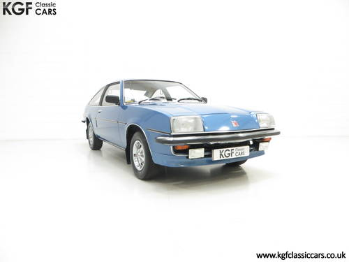 1979 A One Owner Vauxhall Cavalier Mk1 1600GLS Sports Hatch SOLD (picture 1 of 6)