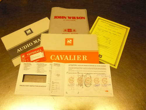 Early F plate mk3 vauxhall cavalier with 12mths mot  SOLD (picture 6 of 6)