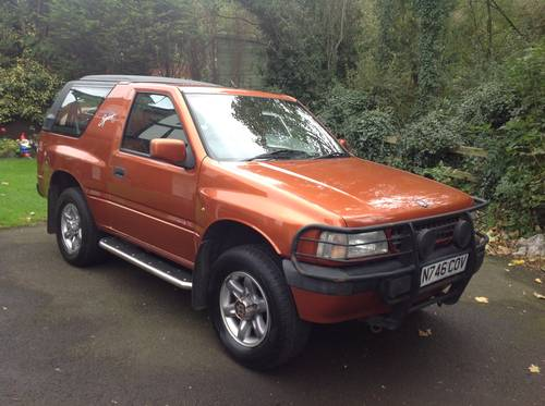 1996 VAUXHALL FRONTERA SPORT S APACHE MK1 GENUINE 76,000 MILES SOLD (picture 1 of 6)