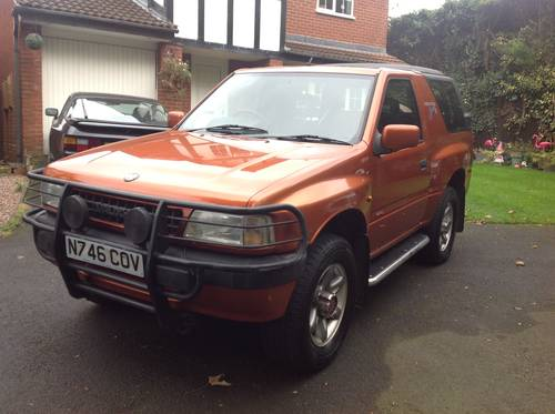 1996 VAUXHALL FRONTERA SPORT S APACHE MK1 GENUINE 76,000 MILES SOLD (picture 2 of 6)