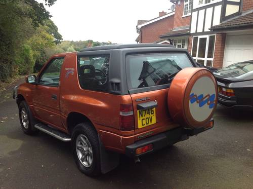 1996 VAUXHALL FRONTERA SPORT S APACHE MK1 GENUINE 76,000 MILES SOLD (picture 4 of 6)
