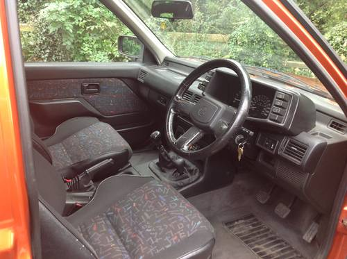 1996 VAUXHALL FRONTERA SPORT S APACHE MK1 GENUINE 76,000 MILES SOLD (picture 5 of 6)