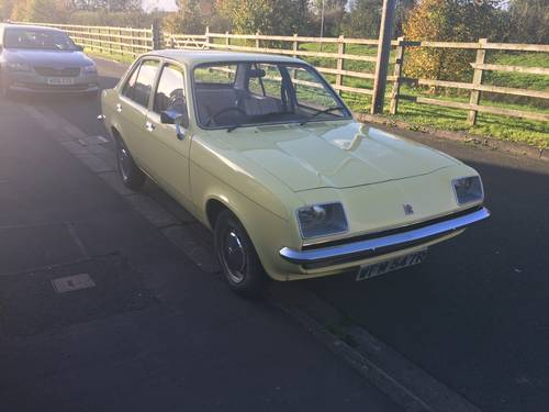 1977 vauxhall chevette l 4500 miles from new sold car and classic 1977 vauxhall chevette l 4500 miles