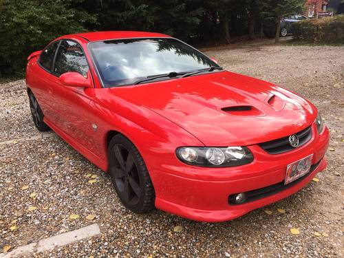 2004 Vauxhall Monaro Low Miles Lots of Upgrades For Sale (picture 1 of 6)