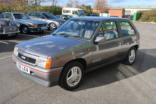 1989 Vauxhall Nova GTE 1.6i 3dr ONE OWNER  SOLD (picture 1 of 6)