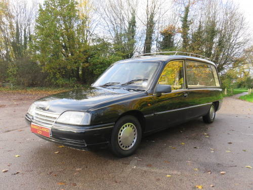 1988 Vauxhall Carlton Hearse (Credit Cards Accepted) SOLD (picture 1 of 6)