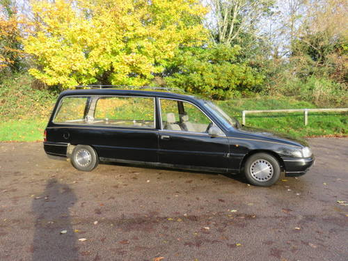 1988 Vauxhall Carlton Hearse (Credit Cards Accepted) SOLD (picture 2 of 6)