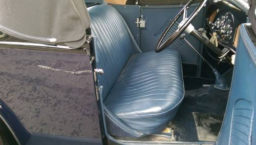 1935 Vauxhall Light Six 2 Door 4 Seater Roadster For Sale (picture 5 of 6)