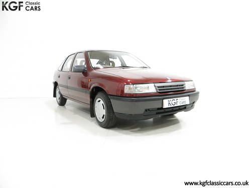 1990 An Outstanding Vauxhall Cavalier Mk3 1.6L with 13,168 Miles  SOLD (picture 1 of 6)
