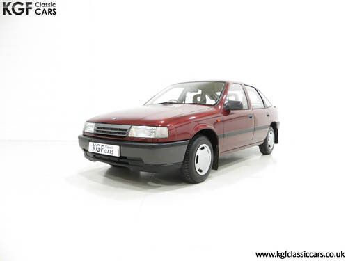 1990 An Outstanding Vauxhall Cavalier Mk3 1.6L with 13,168 Miles  SOLD (picture 2 of 6)