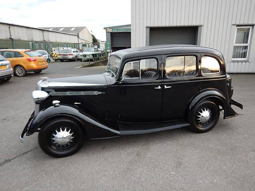 1937 VAUXHALL DX Fourteen-Six Tourer  SOLD (picture 1 of 6)