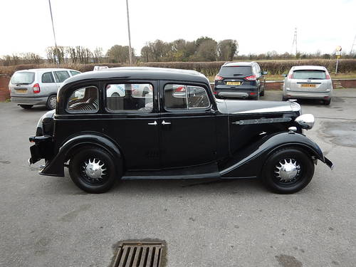 1937 VAUXHALL DX Fourteen-Six Tourer  SOLD (picture 3 of 6)