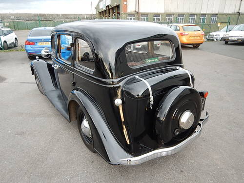 1937 VAUXHALL DX Fourteen-Six Tourer  SOLD (picture 4 of 6)