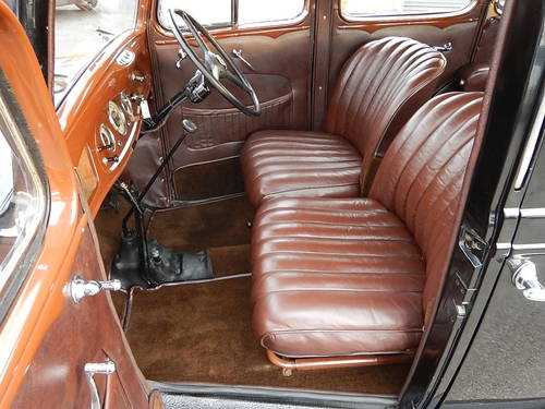 1937 VAUXHALL DX Fourteen-Six Tourer  SOLD (picture 5 of 6)