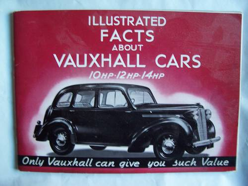 1939/1940VAUXHALL 10/12/14 CATALOGUE For Sale (picture 1 of 6)