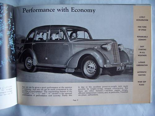 1939/1940VAUXHALL 10/12/14 CATALOGUE For Sale (picture 2 of 6)