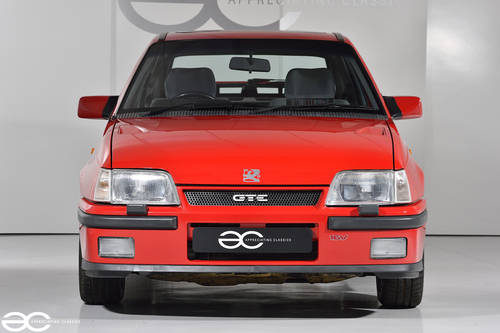 1989 An Incredible Early MK2 Astra GTE 16v - 9k Miles - One Owner SOLD (picture 1 of 6)