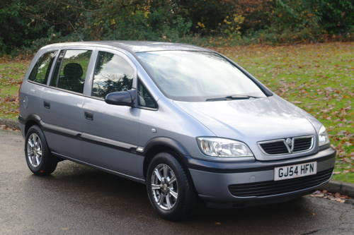 2004/54 Vauxhall Zafira 1.8 Life 16v.. Automatic.. Bargain.. SOLD (picture 1 of 6)