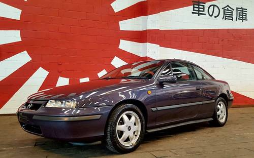 1996 VAUXHALL CALIBRA 2.0 16V AUTO COUPE * ONLY 36000 MILES & FSH For Sale (picture 1 of 6)