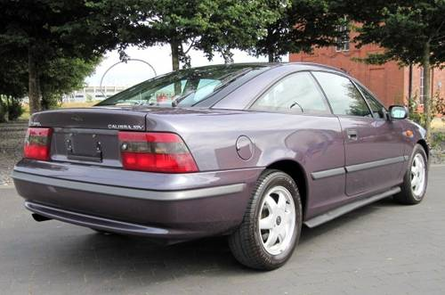 1996 VAUXHALL CALIBRA 2.0 16V AUTO COUPE * ONLY 36000 MILES & FSH For Sale (picture 2 of 6)