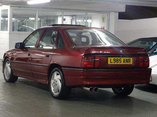 1993 Vauxhall Cavalier 2.0 i Turbo 4x4 4dr RED TOP SFI TURBO 4X4  For Sale (picture 3 of 6)