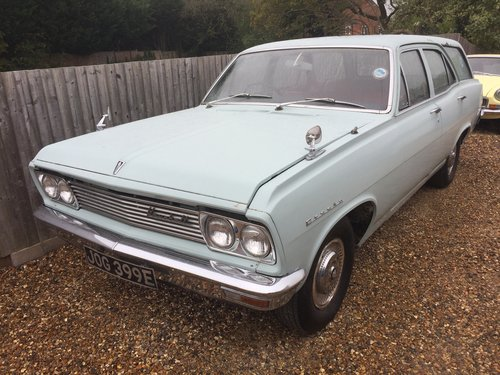 1967 Vauxhall Cresta PC Estate extremely rare SOLD (picture 1 of 3)