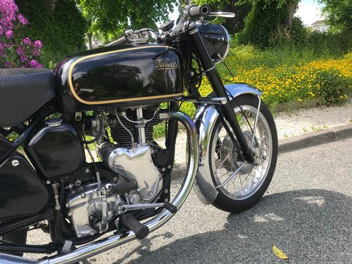 VELOCETTE VENOM 1958 Built for Barry Sheene by his mechanic. For Sale (picture 3 of 6)