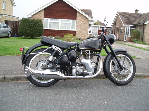 Velocette MSS 500 1954 SOLD (picture 3 of 6)