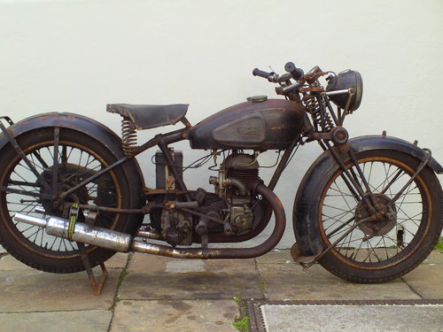 1938 VELOCETTE GTP  SOLD (picture 1 of 6)