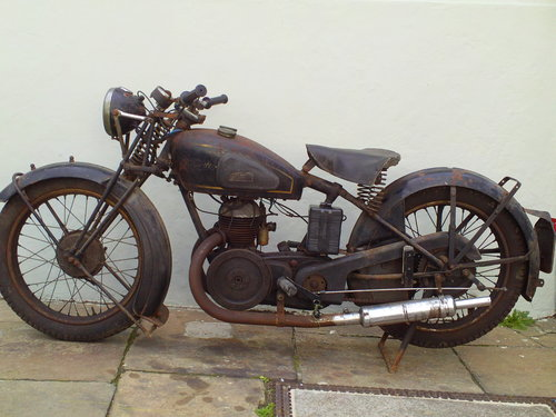 1938 VELOCETTE GTP  SOLD (picture 3 of 6)
