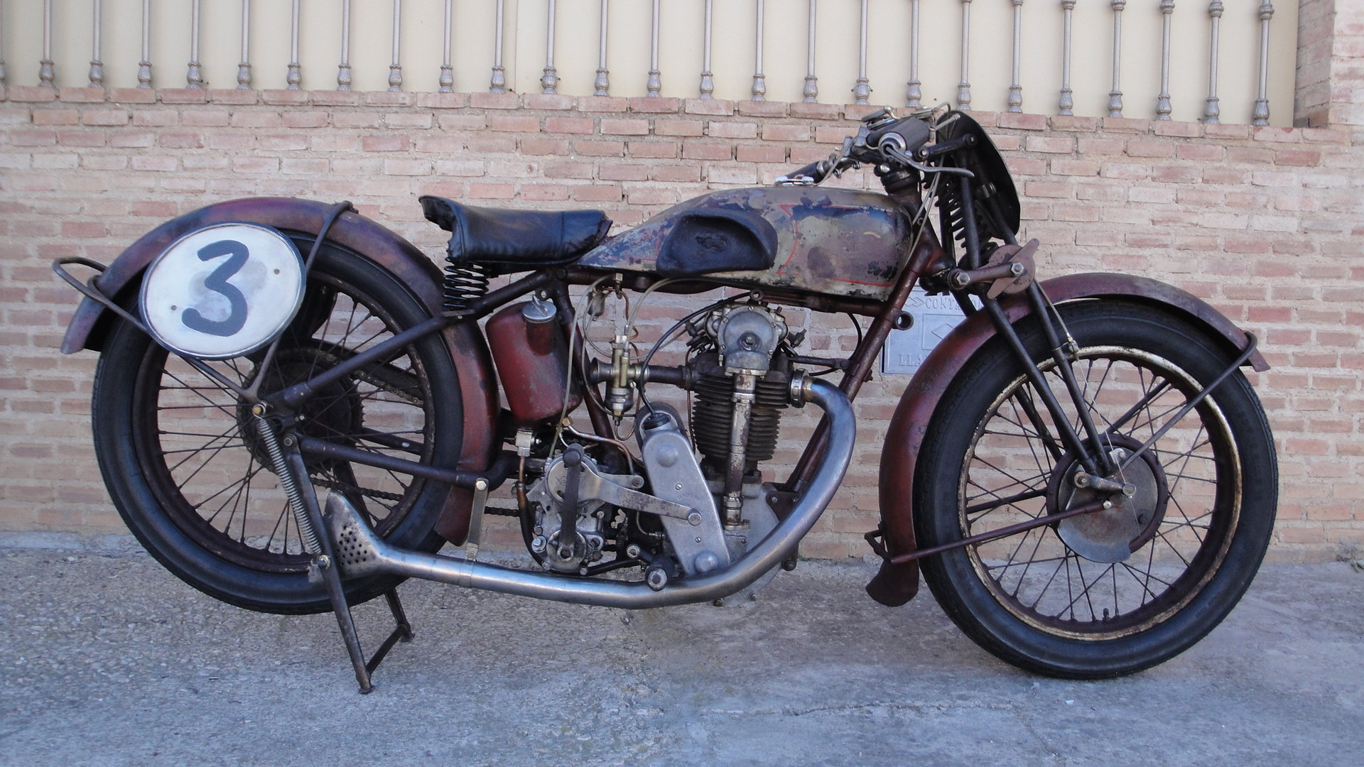 VELOCETTE KN 350cc OHC RACER YEAR 1929 For Sale (picture 1 of 6)