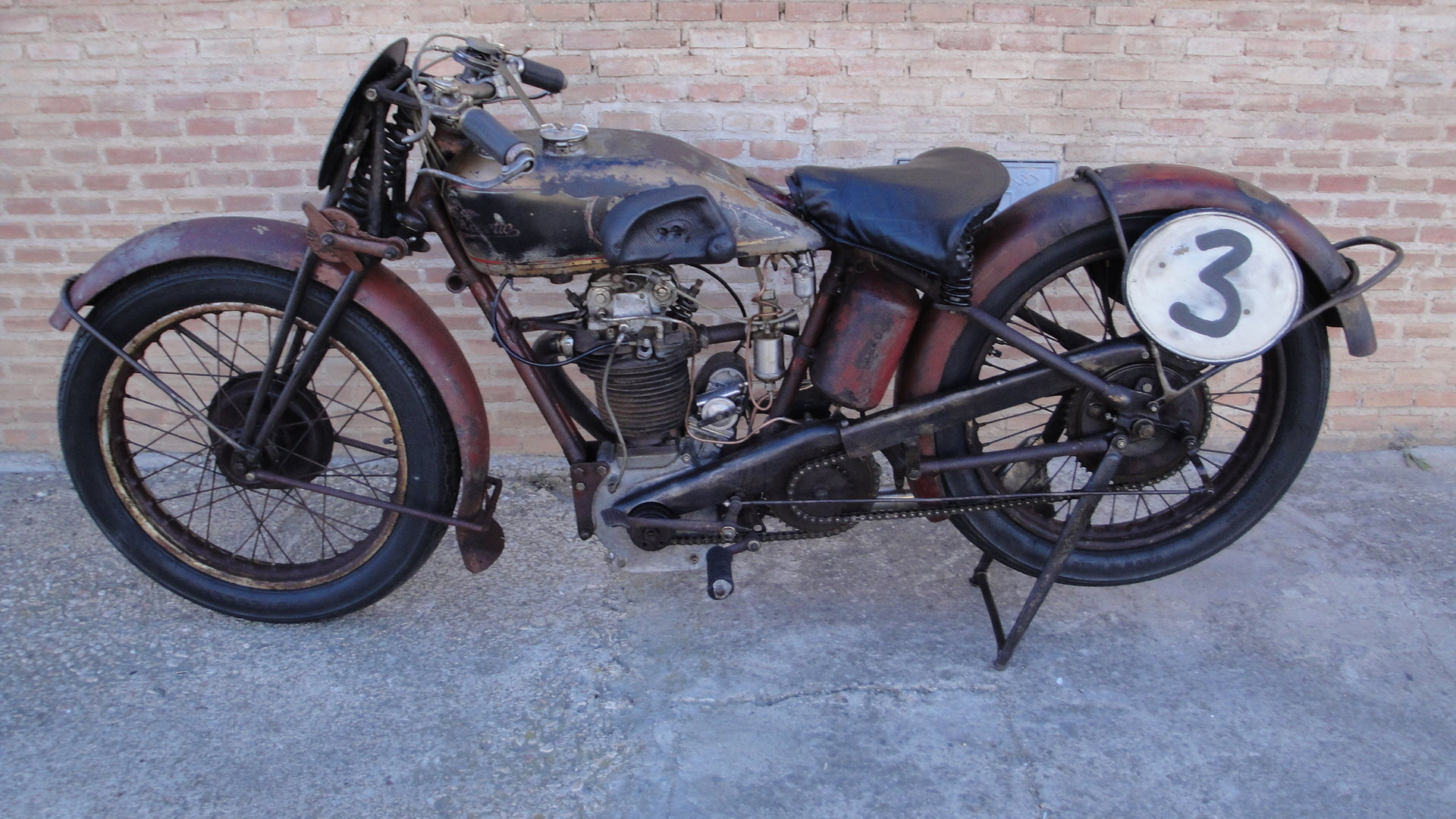VELOCETTE KN 350cc OHC RACER YEAR 1929 For Sale (picture 2 of 6)