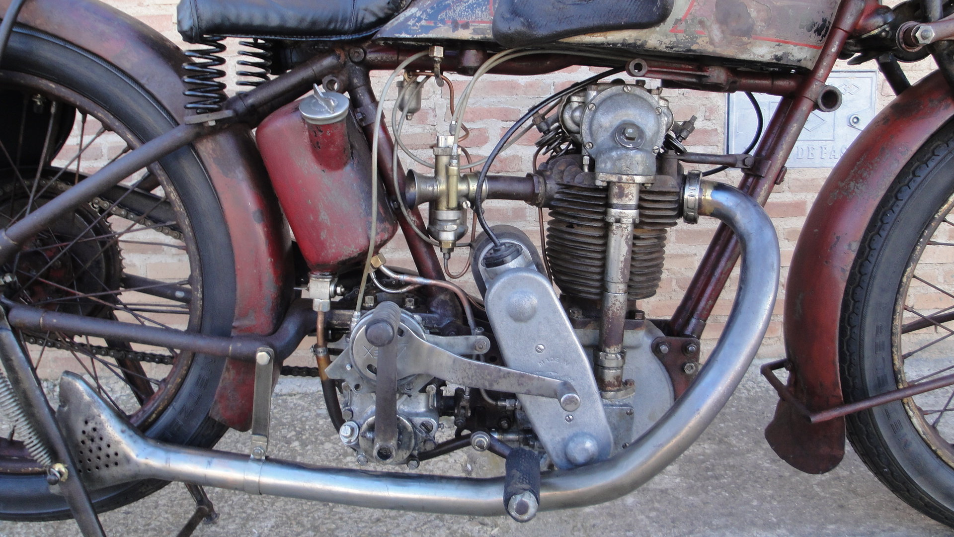 VELOCETTE KN 350cc OHC RACER YEAR 1929 For Sale (picture 3 of 6)