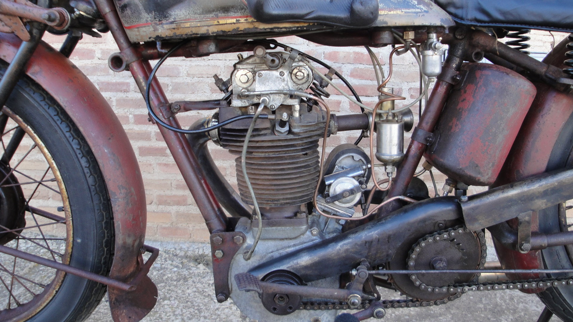 VELOCETTE KN 350cc OHC RACER YEAR 1929 For Sale (picture 4 of 6)