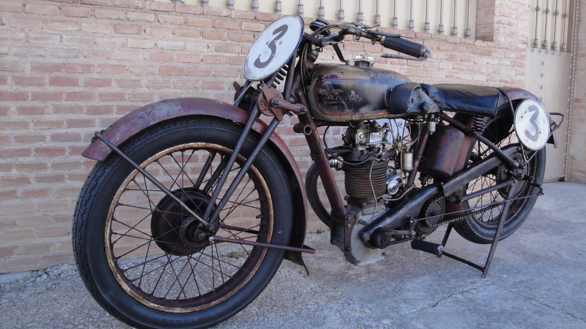 VELOCETTE KN 350cc OHC RACER YEAR 1929 For Sale (picture 6 of 6)
