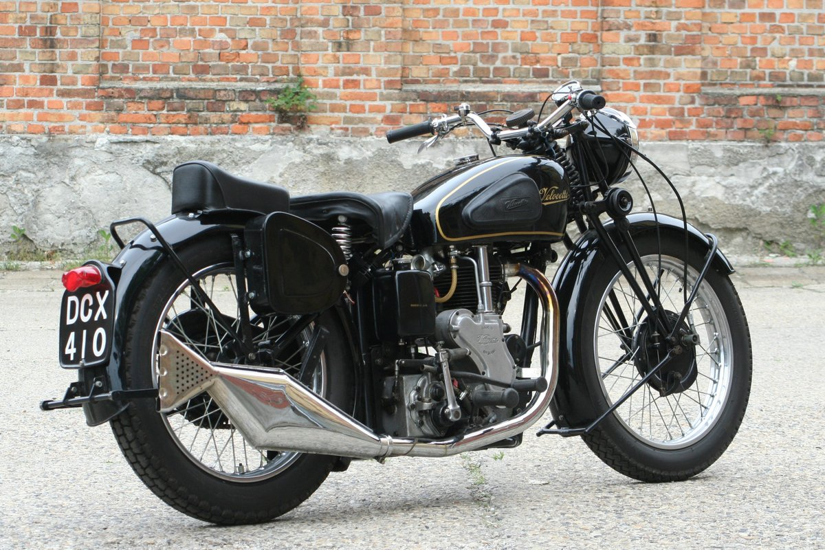 Velocette MSS 500cc OHV 1947 For Sale (picture 6 of 6)