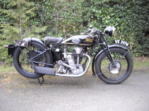 1929 Velocette Model KN Sports OHC For Sale