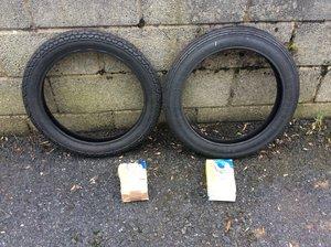 1960 Vellocette Le mk 3 tyres & tubes
