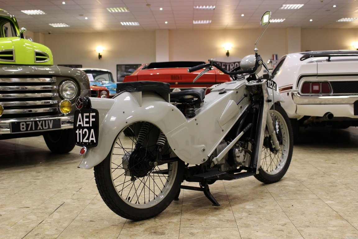 1952 Velocette LE 200 Mk II - Fully Restored | History File  For Sale (picture 6 of 6)