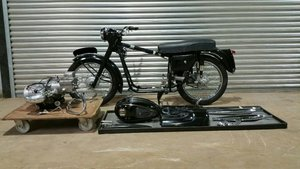 1957 VELOCETTE VALIANT RESTORED WITH V5C REQUIRES ASSEMBLY