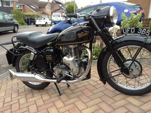 1957 Reluctant sale of Velocette MAC