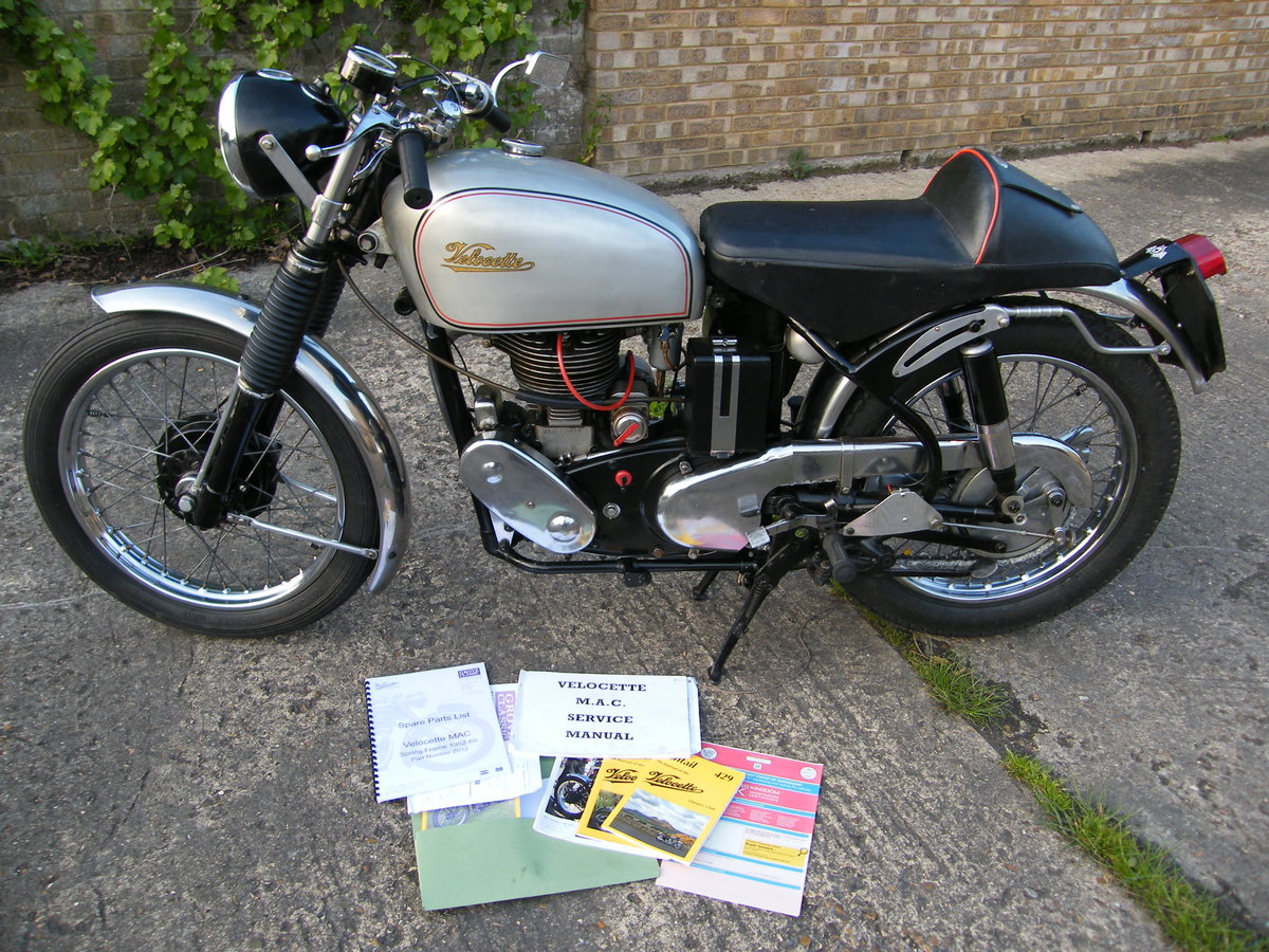 1956 Velocette mac 2 owners all matching nos & reg For Sale (picture 2 of 6)