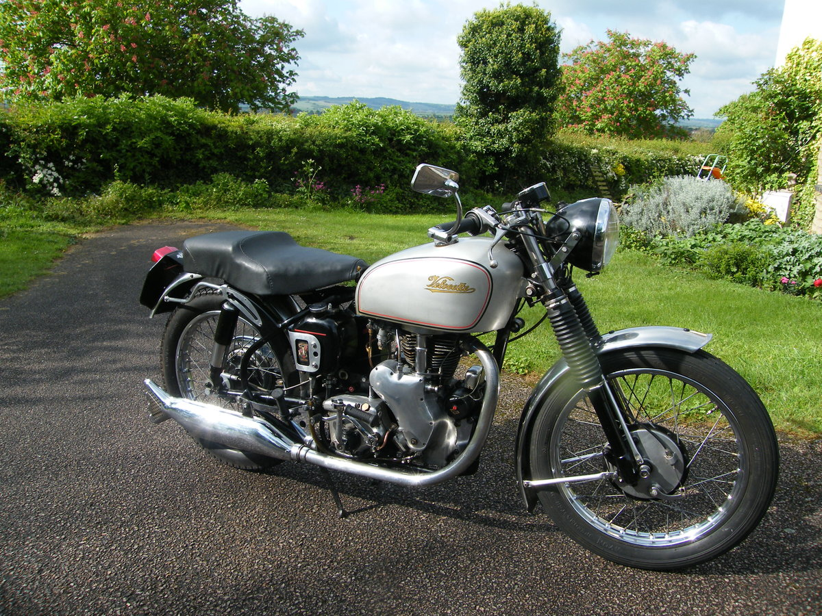 1956 Velocette mac 2 owners all matching nos & reg For Sale (picture 3 of 6)