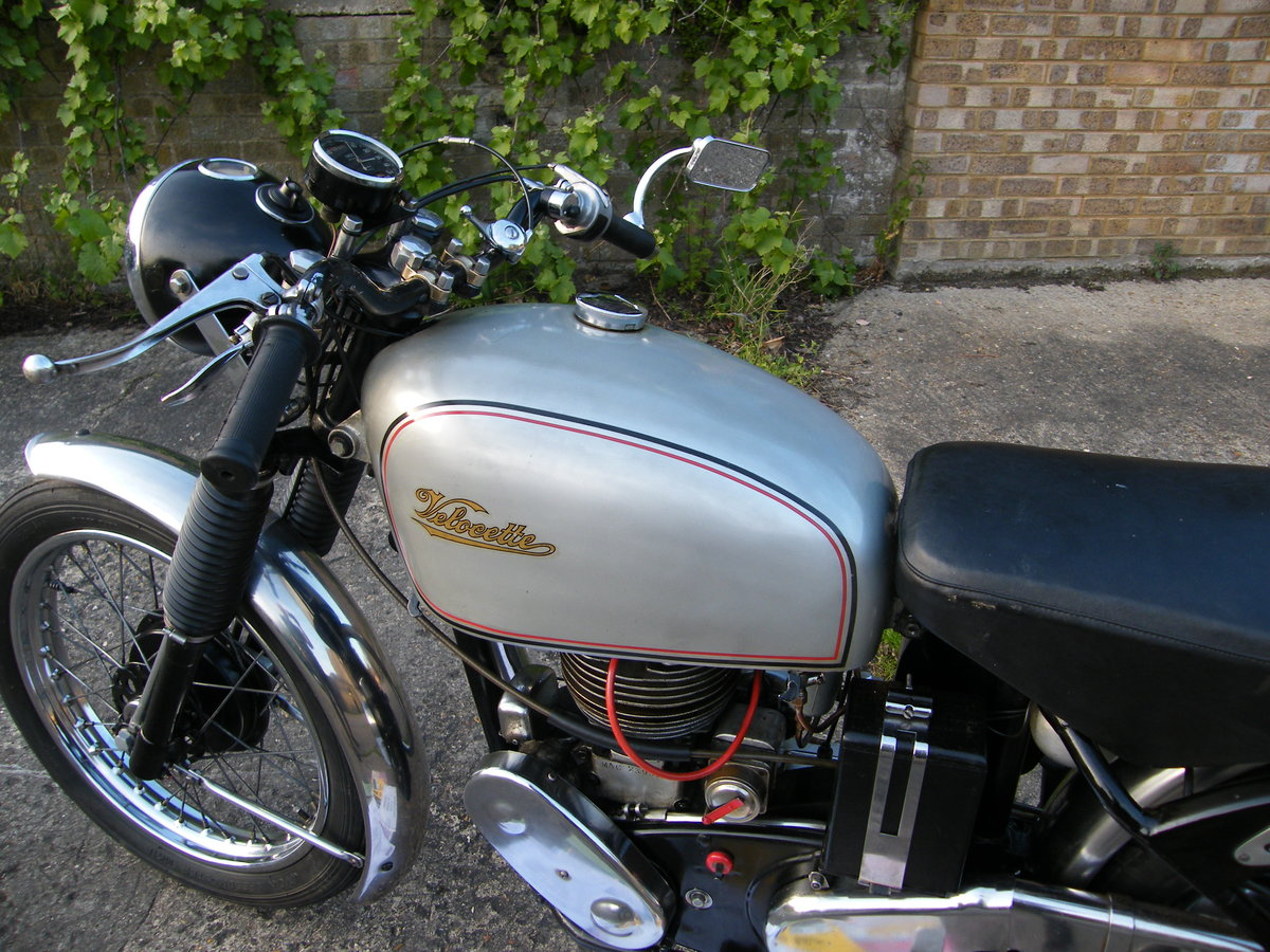 1956 Velocette mac 2 owners all matching nos & reg For Sale (picture 5 of 6)