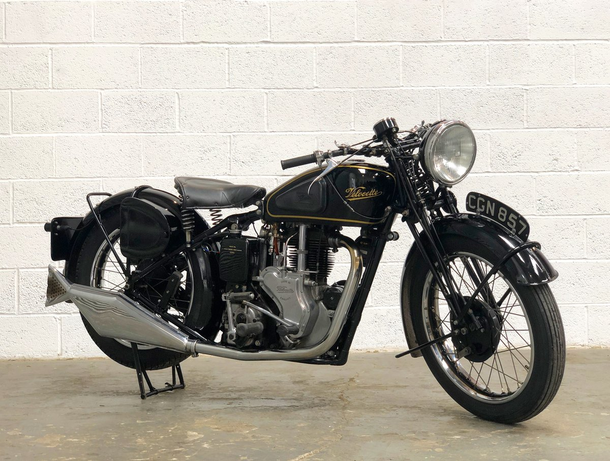 Velocette MSS 1935 500cc OHV Vintage Pre-WAR Motorcycle SOLD (picture 1 of 6)