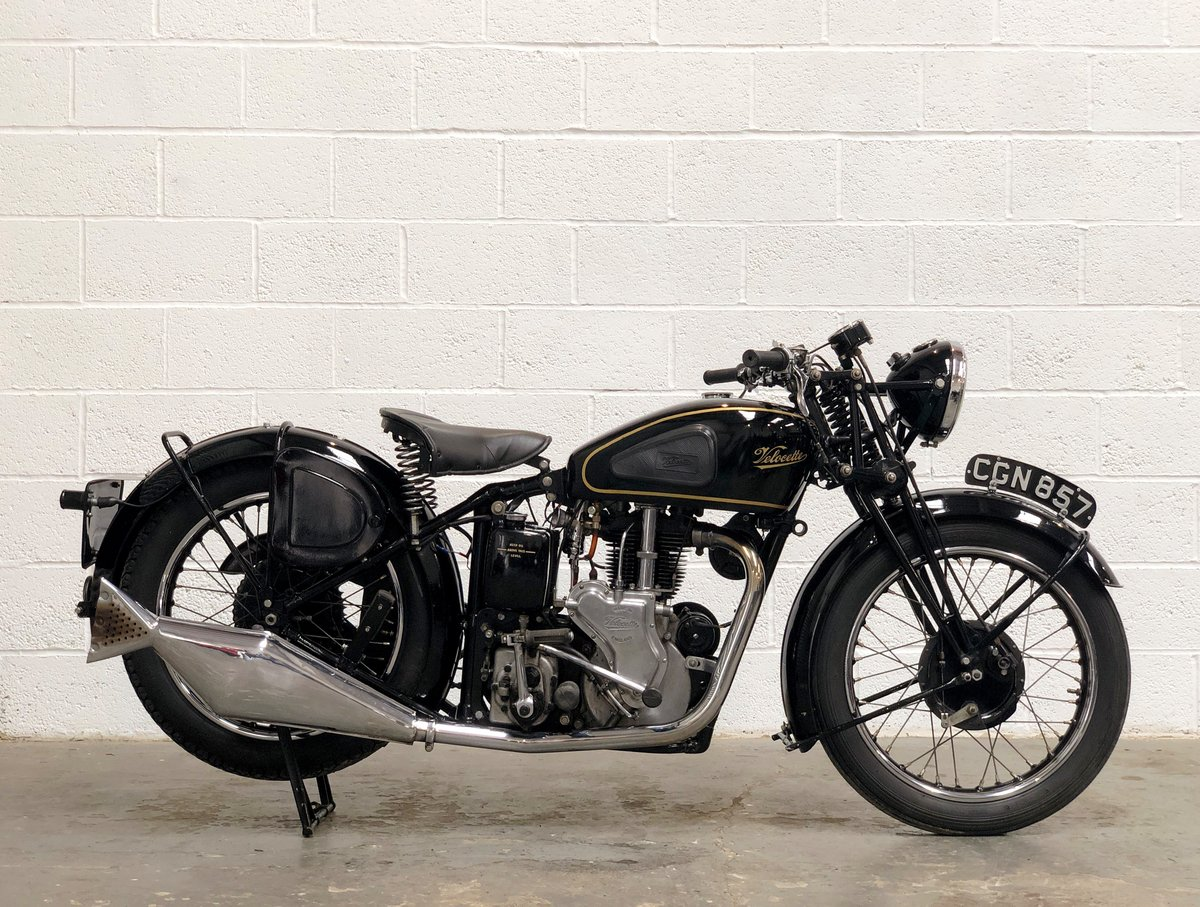 Velocette MSS 1935 500cc OHV Vintage Pre-WAR Motorcycle SOLD (picture 3 of 6)